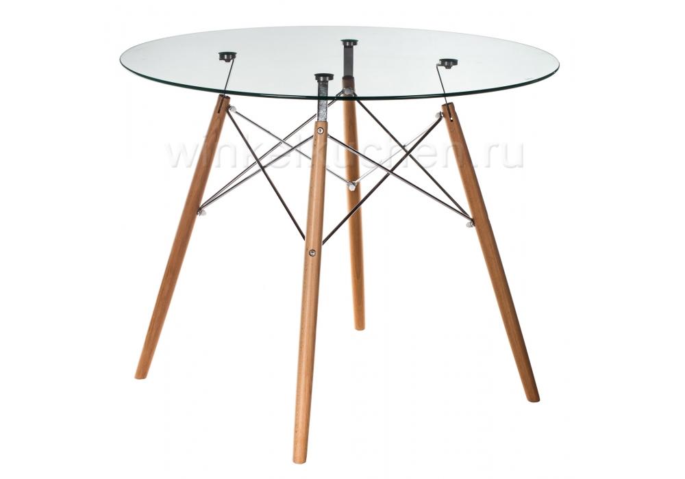 Стол деревянный Eames PT-151 80