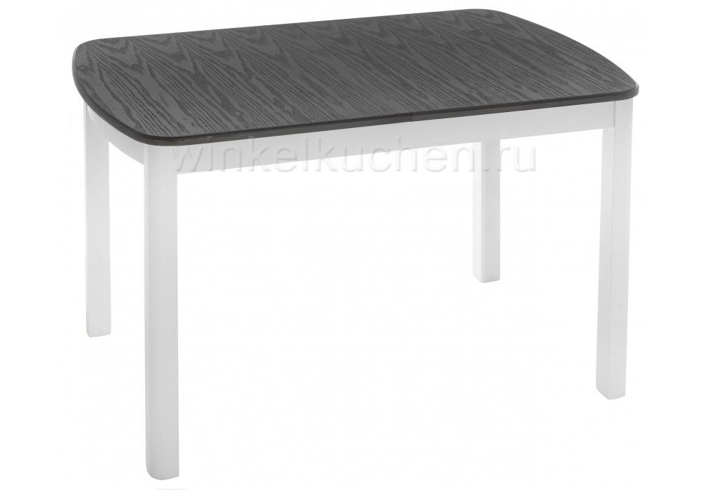 Стол деревянный Carbi серый / белый