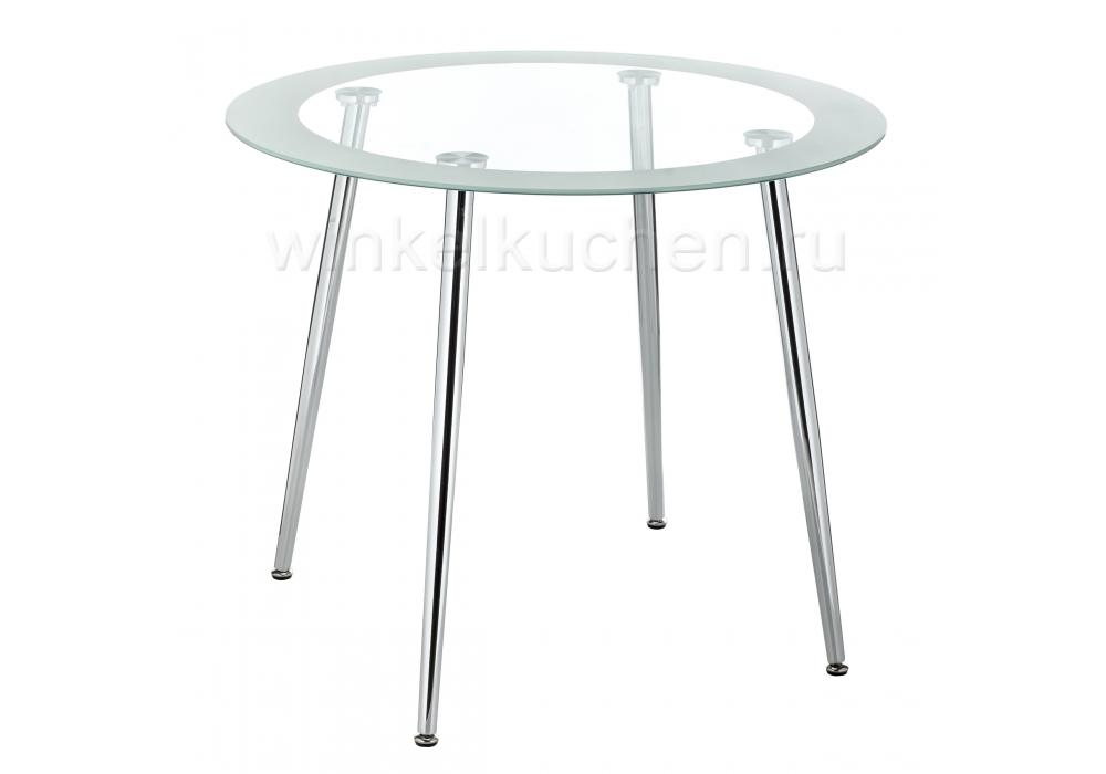 Стол стеклянный Vasko белый