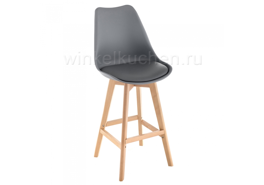 Барный стул Burbon серый