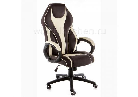 Компьютерное кресло Danser коричневое / бежевое