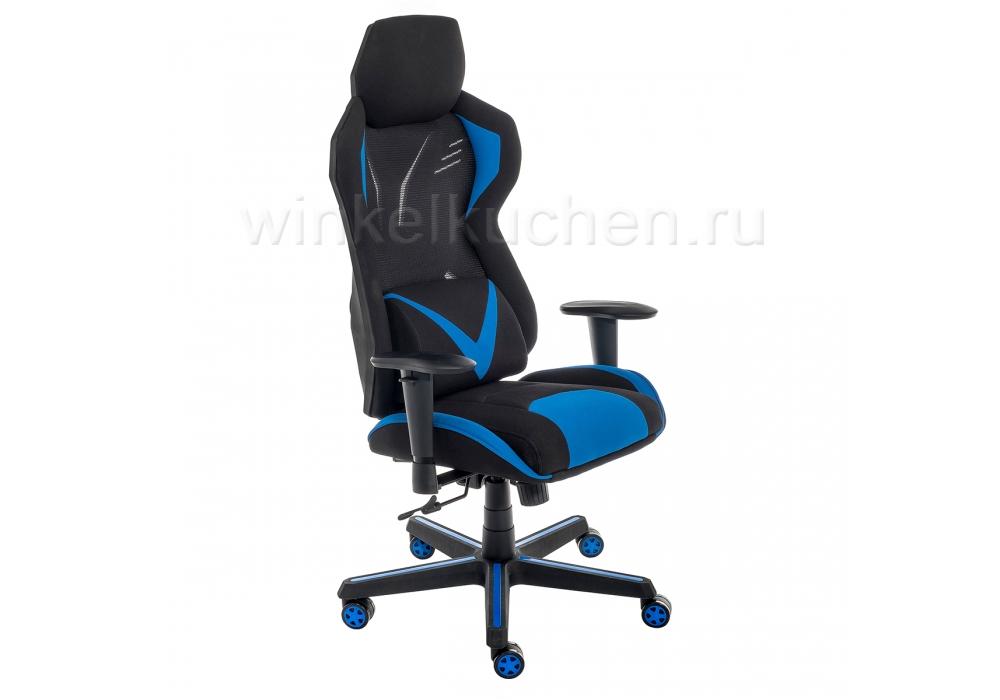 Компьютерное кресло Record синее / черное