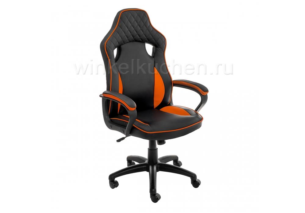 Стул Anger черное / оранжевое