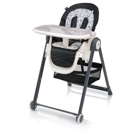 Стульчик для кормления Baby Design Penne Черный