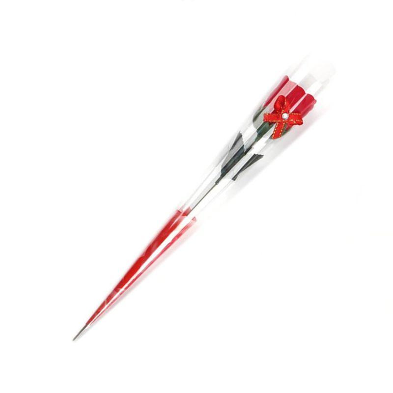 Мыльная Роза I Love You 50 см (цвет красный)
