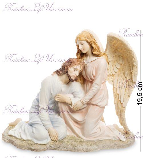 """Статуэтка Иисус и Ангел """"Veronesе"""""""