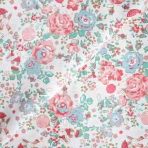 Ткань Зайчата в цветах 50х40см