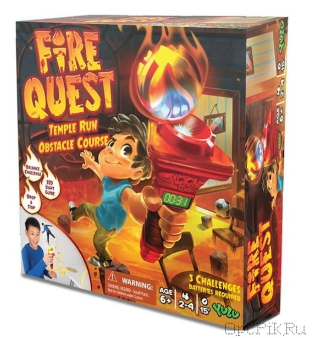 Игра настольная подвижная Огневой квест