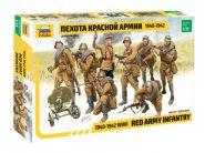 3526 Пехота Красной Армии 1940-1942 г.