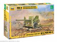 3518 Британская 6-фунтовая противотанковая пушка Мк-II