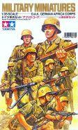 Немецкие пехотинцы (африканский корпус) 8 фигур в тропической униформе