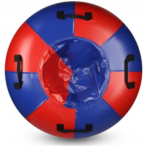Санки-ватрушка Мега SM-245 (синий-красный)