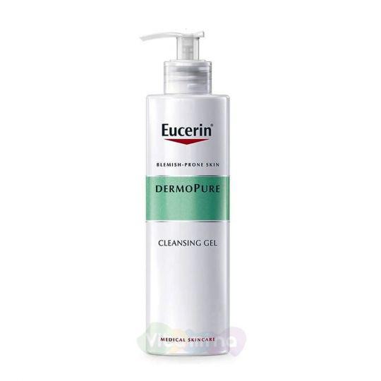Eucerin Dermopure Очищающий гель, 400 мл