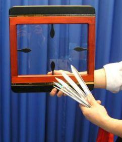 #НЕНОВЫЙ Невероятное прохождение ножей сквозь стекло! пр-во Япония