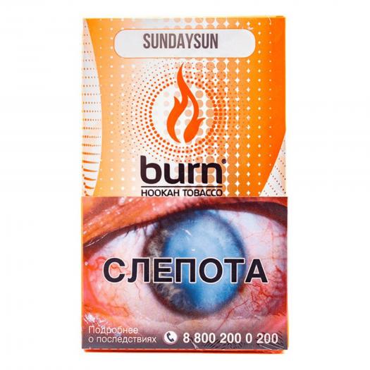Burn Sundaysun