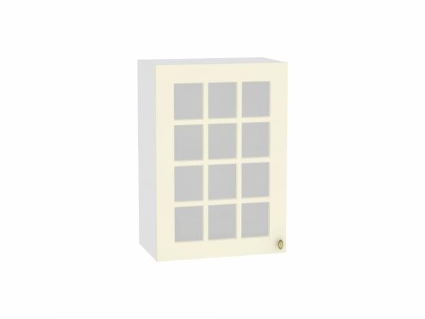Шкаф верхний Прованс В509 со стеклом (ваниль)