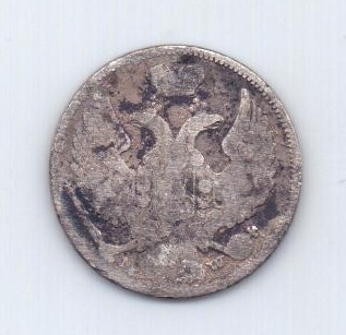 1 злотый - 15 копеек 1839 года Польша Россия