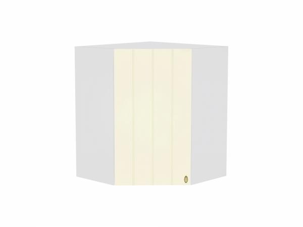 Шкаф верхний угловой Прованс ВУ599 (ваниль)