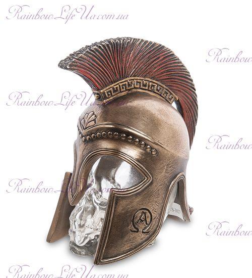 """Флакон Спартанский шлем на стеклянном черепе """"Veronese"""""""