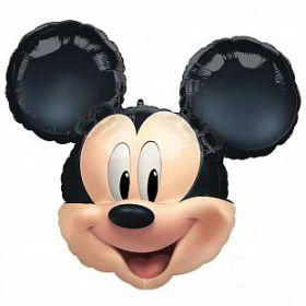 "Микки Маус навсегда!, Голова, 25""/ 63*55 см"
