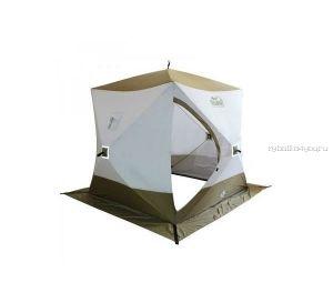 Палатка зимняя Следопыт Куб Premium трёхслойная 1,8х1,8м PF-TW-13