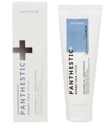 Успокаивающий крем для лица [ Withme ] Panthestic Derma Cica Cream