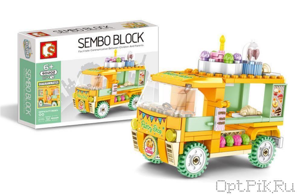 """Передвижное кафе """"Фургон с пирожными"""" Sembo Block"""