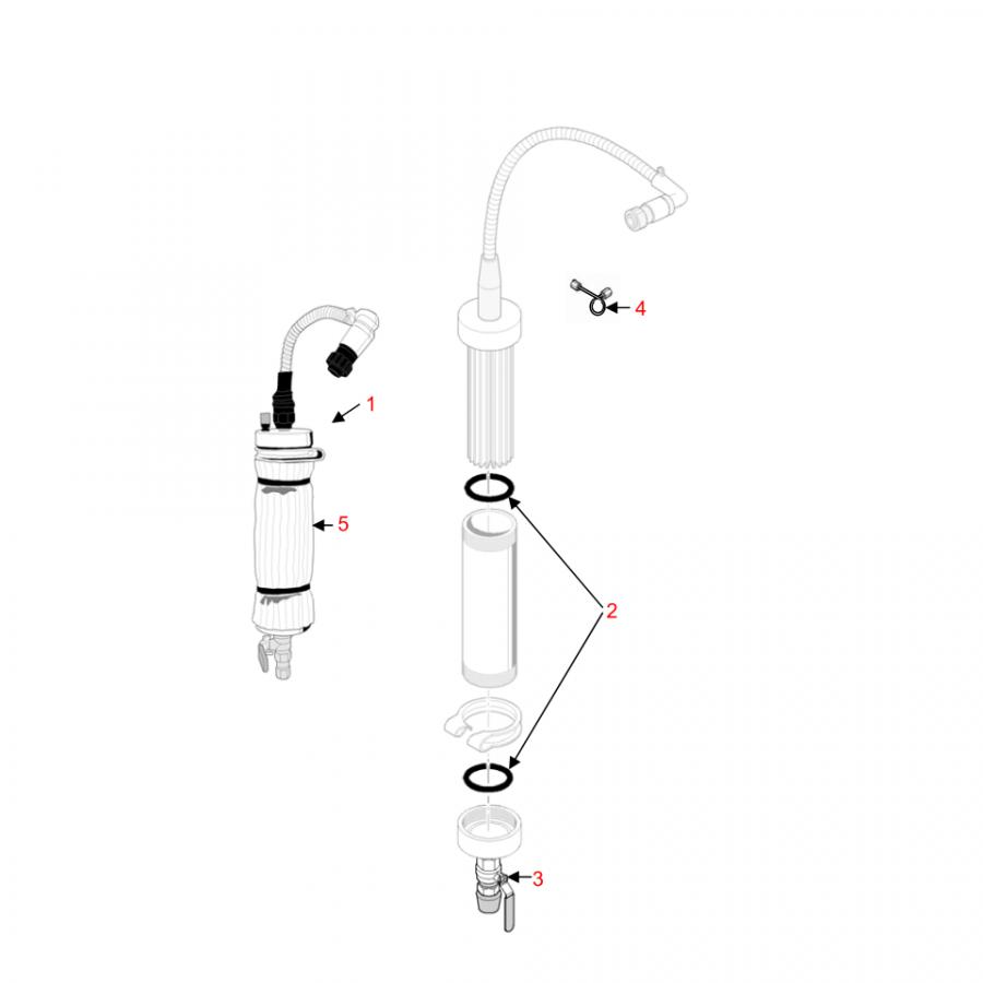 Ремкомплект преднагревателя EL 500