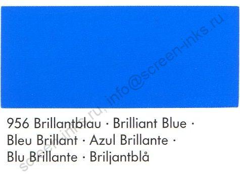 Краска Marabu Tampastar TPR 956 (ярко-синий) 1 л.
