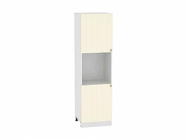 Шкаф пенал под бытовую технику Прованс ШП600Н (ваниль)