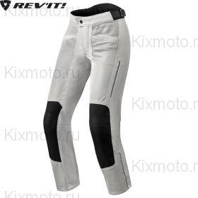Мотоштаны женские Revit Airwave 3 текстильные, Серебряные