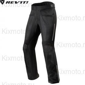 Мотоштаны Revit Airwave 3 текстильные, Черные