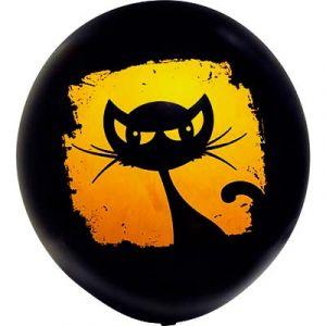 Большой латексный шар Кошка (60 см)