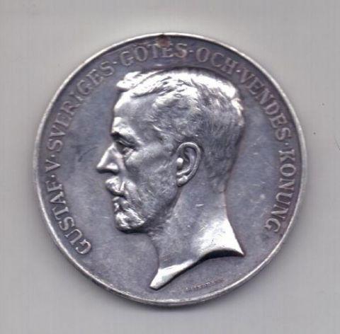 медаль 1929 года XF Швеция