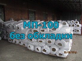 Маты прошивные минеральные мп-100, без обкладки 110 мм