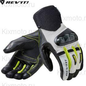 Перчатки Revit Prime, Черно-бело-желтые Флуоресцентные