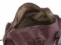 Hadley Garnetwood кожаная дорожная сумка