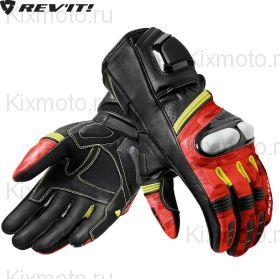 Перчатки Revit League, Черно-красно-желтые