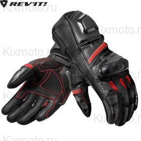 Перчатки Revit League, Черно-серо-красные