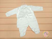 Костюм для новорожденного: шапка, комбинезон-жилет dFC-KS205-ITpk(b) Мамин Малыш