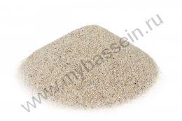 Кварцевый песок 0,5-1,0, 25 кг