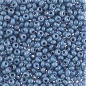 Бисер чешский 33023 непрозрачный серо-голубой блестящий Preciosa 1 сорт купить оптом