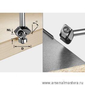 Фреза  для снятия фаски FESTOOL WEPLA S 8 HW 45° D 27 12 x 12 KL 499807