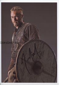 Автограф: Трэвис Фиммел. Викинги  / Vikings
