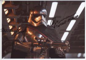 Автограф: Гвендолин Кристи. Звёздные войны: Пробуждение силы