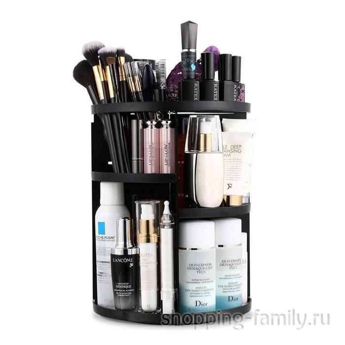 Вращающийся органайзер для косметики 360 Rotation Cosmetic Organizer