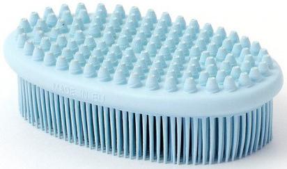 Щётка душ-массаж Sweepa голубая
