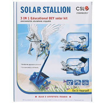 КОНСТРУКТОР НА СОЛНЕЧНЫХ БАТАРЕЯХ 3 В 1 SOLAR STALLION EDUCATIONAL DIY SOLAR KIT