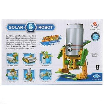 КОНСТРУКТОР НА СОЛНЕЧНОЙ БАТАРЕЕ 6 В 1 SOLAR ROBOT