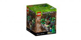 Lego Minecraft 21102 Микромир Лес